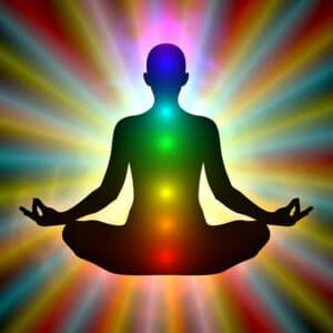 Sitting Chakra Pose